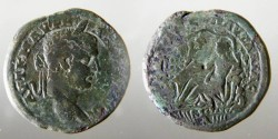 Ancient Coins - Caracalla AE28 of Pautalia in Thrace.