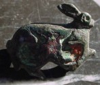 Ancient Coins - ROMAN ZOOMORPHIC BROOCH RUNNING RABIT