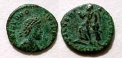 Ancient Coins - Theodosius I AE 4. SALVS REIPVBLICAE.