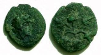 Ancient Coins - Dionysopolis  AE17      Spink Numismatic Circular Dec 97 #11  Rare