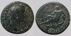 Ancient Coins - Hadrian (117 – 138 A.D.)  AE31 of Philippopolis, Thrace.River god Hebros (Marica)Rare