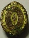 Ancient Coins - UNIQUE ROMAN OR BYZANTINE GOLD PLATED  BRONZE PENDANT