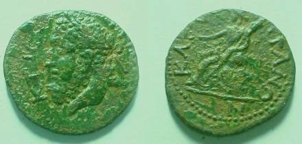 Ancient Coins - Kallatis, Thrace, autonomous coinage, AE21,  KTHCTHC.