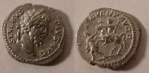 Ancient Coins - SEPTIMIUS SEVERUS AR Denarius. ADVENT AVGG.