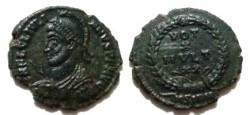 Ancient Coins - Julian II Æ 20mm. VOT X MVLT XX within wreath; BSIRM.