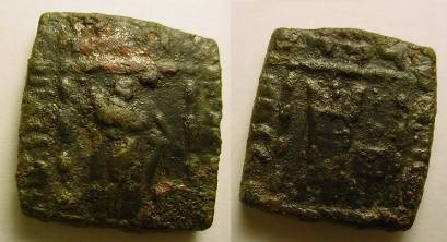 Ancient Coins - BACTRIA.MENANDER 160-145 BC.AE Hemi- obol