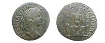 Ancient Coins - Caracalla AE30 of Augusta Traiana, Thrace.  AV<font face=