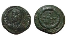 Ancient Coins - Julian II AE3. VOT X MVLT XX in wreath.