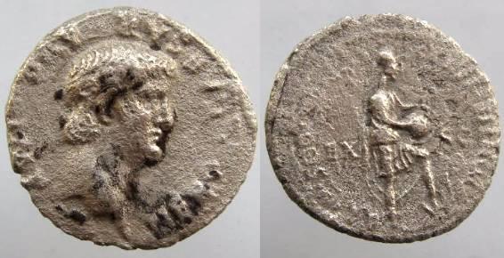 Ancient Coins - Nero. A.D. 54-68. AR denarius. Rome, A.D. 61-62. VF