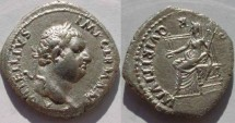 Ancient Coins - RARE VITELLIUS. AR. Denarius. Uncertain mint.EF and Rare