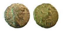 Ancient Coins - Septimius Severus AR Denarius.  SECVRITAS PVBLICA, Securitas seated left, holding globe.