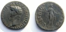 Ancient Coins - Claudius. 41-54 AD. Æ As. LIBERTAS AVGVSTA