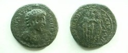 Ancient Coins - Commodus Æ25 of Marcianopolis, Moesia Inferior. The Three Graces.