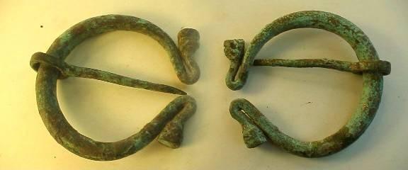 Ancient Coins -  Greek annular brooch.  c600 BC.