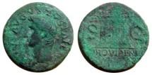 Ancient Coins - Divus Augustus Æ As.  Large altar, PROVIDENT in ex.