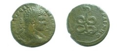 Ancient Coins - Caracalla AE28 of Augusta Traiana, Thrace. Coiled serpent.