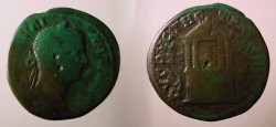 Ancient Coins - Caracalla AE31 of Augusta Traiana, Thrace.