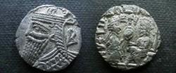 Ancient Coins - Parthian tetradrachm.  Phraates?