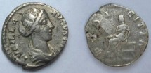 Ancient Coins - PRETTY Lucilla (Commodus' sister, married to Verus) AD 165-169 Silver Denarius