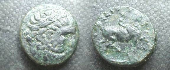 Ancient Coins - Kingdom of Thrace, Seuthes III, Æ19. ca 330 BC.
