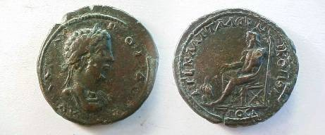 Ancient Coins - Commodus AE30 of Nikopolis ad Istrum.