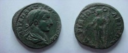 Ancient Coins - Gordian III Æ 27mm of Hadrianopolis.   Demeter stadning left with corn ears & torch.