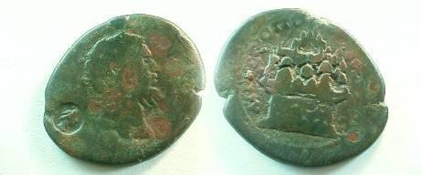 Ancient Coins - Septimius Severus Æ 32mm of Cappadocia, Caesarea. 5 AD).