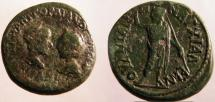 Ancient Coins - Gordian III & Tranquillina AE27 of Anchialus, Thrace.