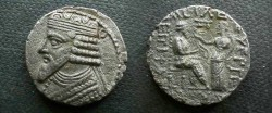 Ancient Coins - Parthian tetradrachm. Gotarzes II. Year 360.  Sellwood  65.20-65.24.VF. 13.5g.