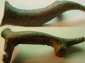 Ancient Coins - RARE CORNUCOPIA BROOCH