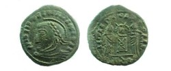 Ancient Coins - Imitation of a VICTORIAE LAETAE type.  19mm.