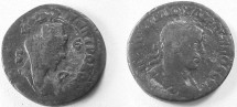 Ancient Coins - Philip II AE 29 of Antioch, Syria.  Turreted bust of Tyche right, ram leaping right above, star below.
