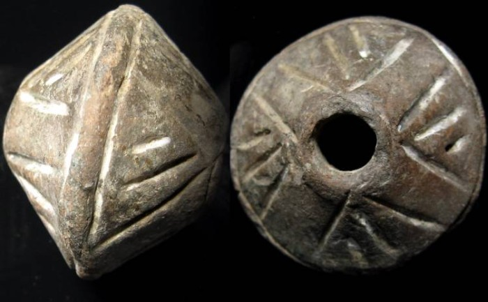 Ancient Coins - ROMAN. Circa 1st-3rd century AD. Superb spindle whorl.