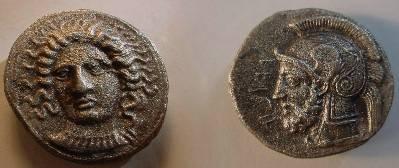 Ancient Coins - CILICIA.Tarsos.Datames,Satrap.378-372BC.AR Stater