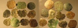 Ancient Coins - Nice lot of eleven Unidentified  Palaeologan coins !!