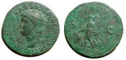 Ancient Coins - Nero AE Dupondius. .