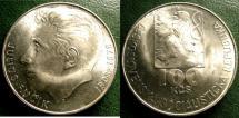 World Coins - CZECHOSLOVAKIA ND 1978 100  KORUN BIRTH OF JULIUS FUCIK  KM-92 BU/UNC; .700 SILVER