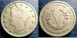 Us Coins - LIBERTY NICKEL 1883 VF