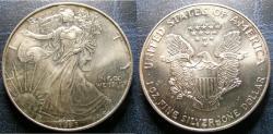 Us Coins - SILVER EAGLE 1993 BU/UNC; .999 SILVER, 1 OZ.