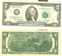 Us Coins - $2.00 Federal Reserve Note 1976 CU-65