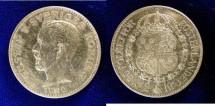World Coins - Sweden 2 Kronor 1922-W Gustav V, AU