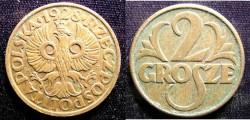 World Coins - Poland 2 Grosze 1928 A.EF
