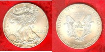 Us Coins - American Silver Eagle  2008 Choice Bu/Unc; .999 Silver