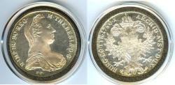 World Coins - Austria  Thaler 1780-SF Restrike,   .8330 Silver