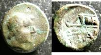 Ancient Coins - Thrace- Pantakapion  AE12  4th C. BC, VF