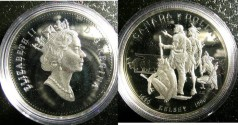World Coins - Dollar 1990 Henry Kelsey Proof 65