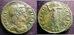 Ancient Coins - Roman Imperial AE Follis 293 AD Galeria Valeria VF
