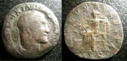 Ancient Coins - Roman Imperial  AE Sestertius 235-238 AD Maximinus I, Fine