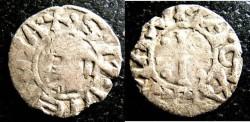 World Coins - VIENNE, France Feudal-  Denier 12- 14th  C. Anon. Archbishops G/VG