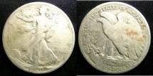 Us Coins - Walking Liberty 1/2 Dollar 1920 VG-8
